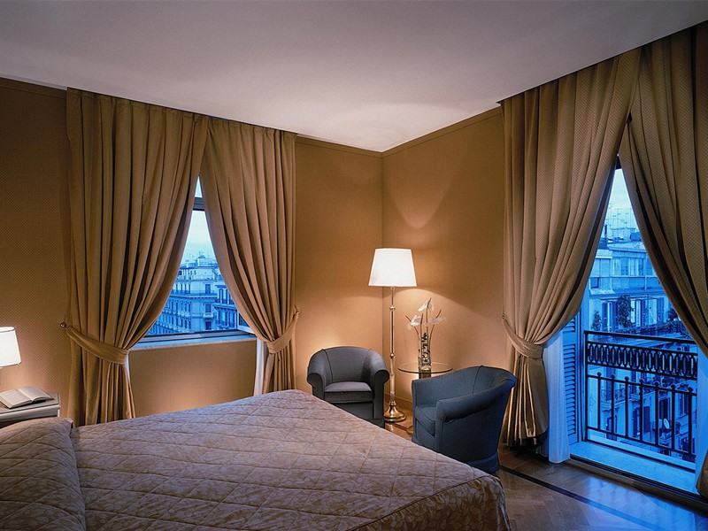 Chambre Superior de l'hôtel Grand Hotel Vesuvio