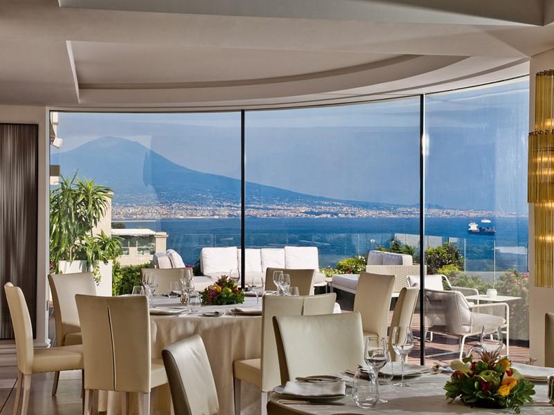 Restaurant Caruso de l'hôtel Grand Hotel Vesuvio