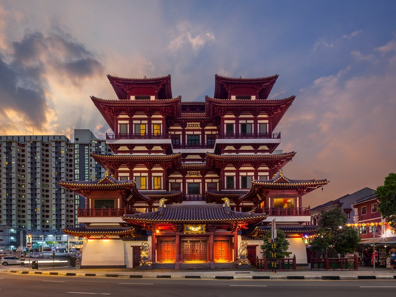 Traverserez Chintown, Kampong Glam, Little India…