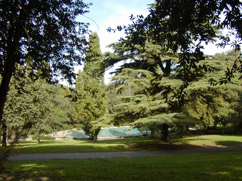 Le magnifique parc de la villa Borghèse