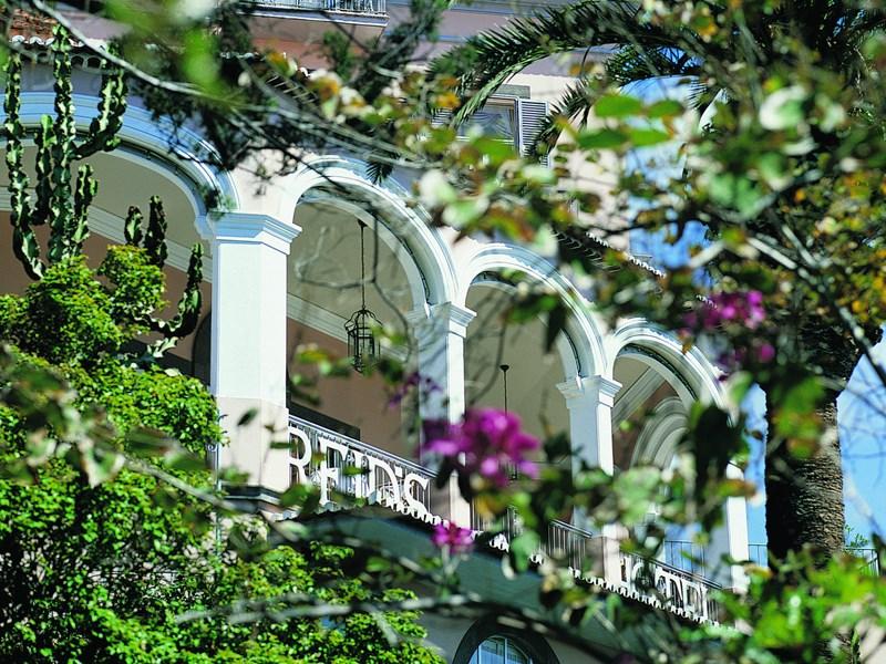 Le Belmond Reid's Palace surplombe l'Atlantique offrant des vues magnifiques