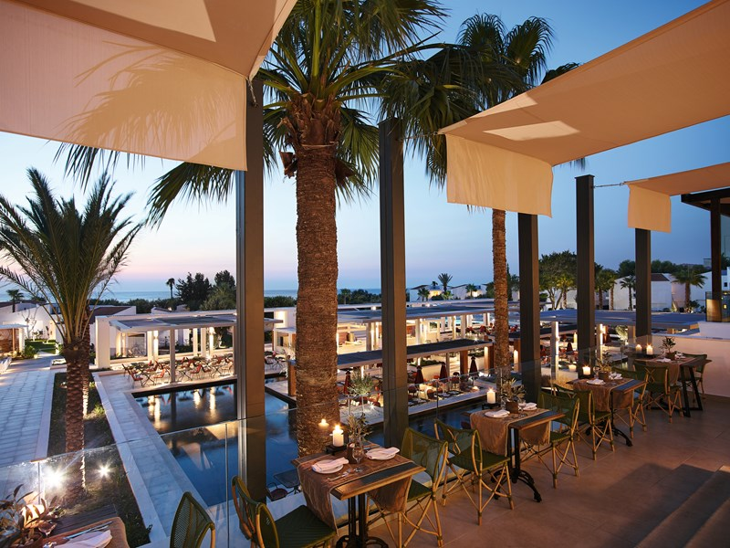 Le restaurant The Olive