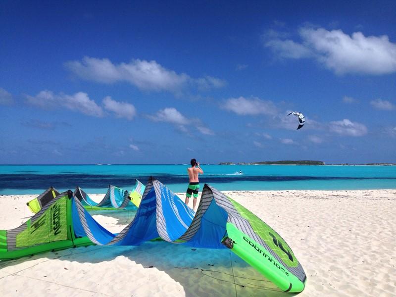 Le paradis des kitesurfeurs