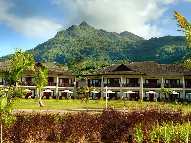 Vue du H Resort Beau Vallon Beach Seychelles