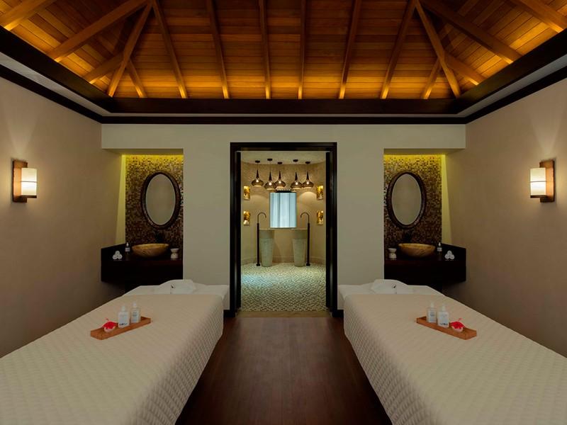 Le spa de l'hôtel 5 étoiles H Resort Beau Vallon Beach