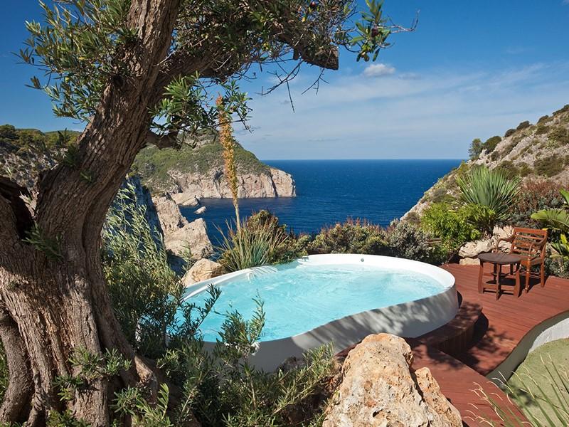 Eden Room de l'Hacienda Na Xamena à Ibiza