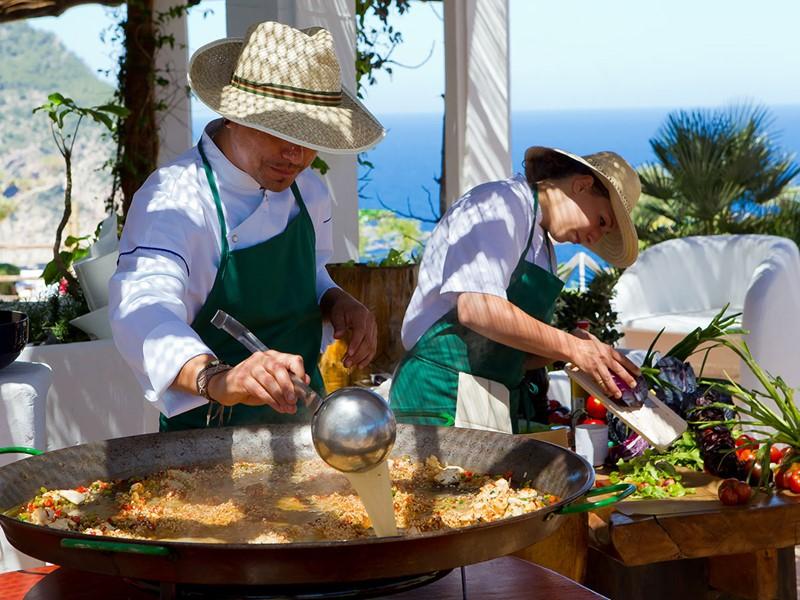 Expérience culinaire unique à l'Hacienda Na Xamena