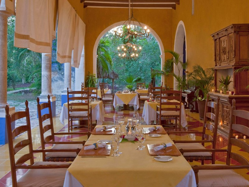 Le restaurant San Jose de l'Hacienda San Jose