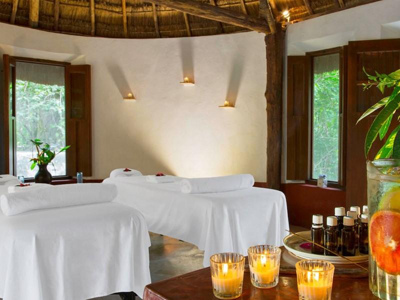 Profitez des somptueux soins du spa de l'Hacienda San Jose