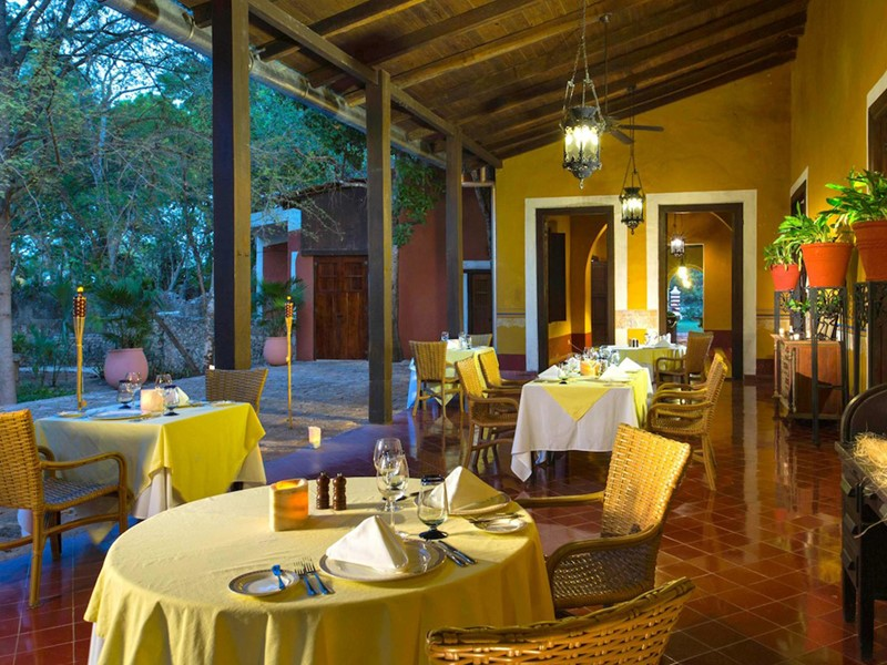 Le restaurant Santa Rosa de l'Hacienda Santa Rosa