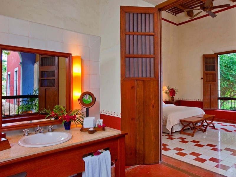 Guest Room 2 Double Garden View de l'Hacienda Santa Rosa
