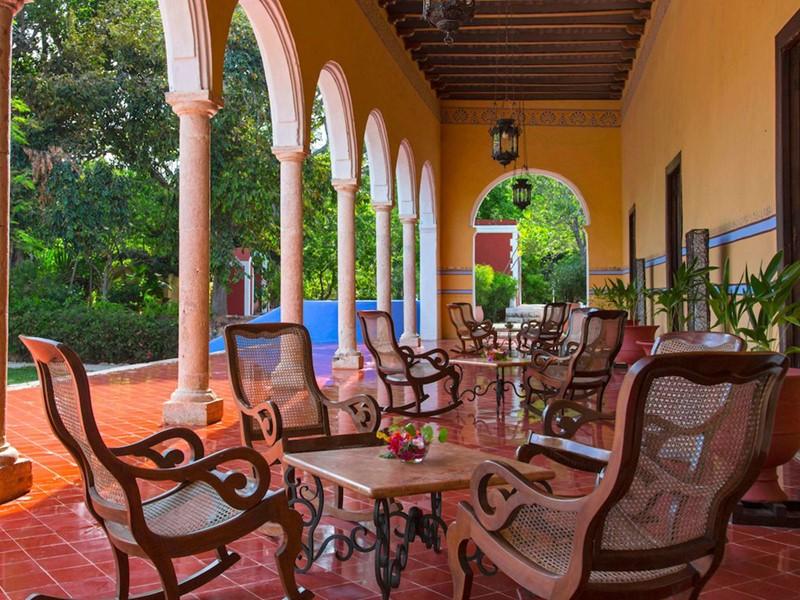 Le Santa Rosa Bar de l'Hacienda Santa Rosa au Mexique