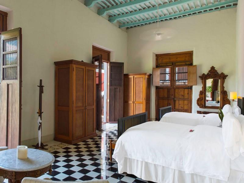 1 Bedroom Junior Suite 2 Queen de l'Hacienda Temozon
