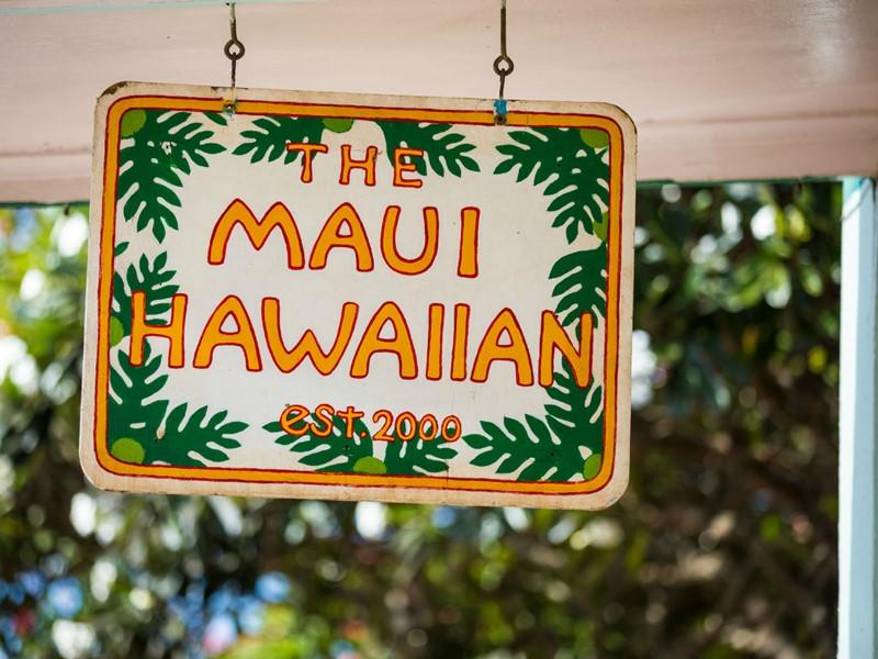 Bienvenue à Maui, Hawaï