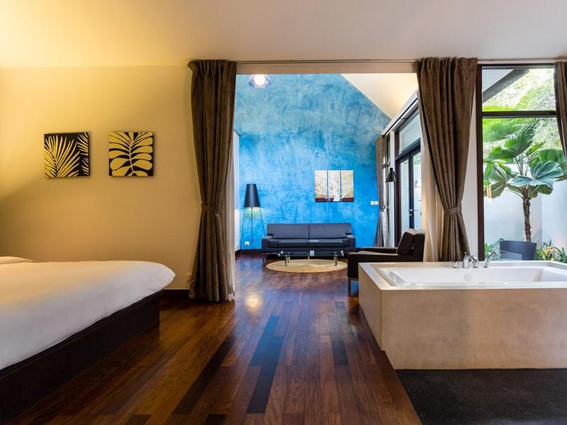 Bungalow Suite de l'Heritage Suites Hotel au Cambodge