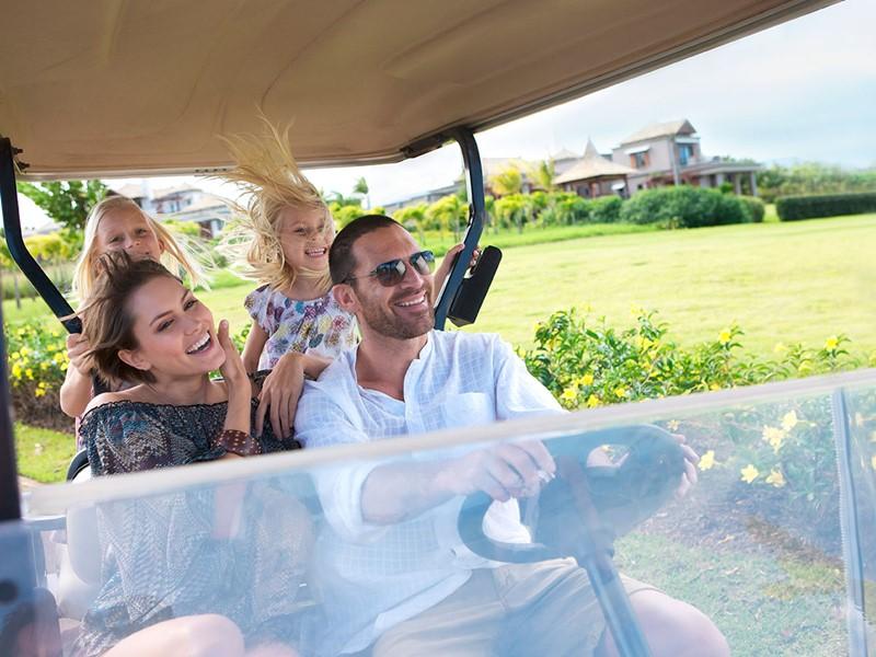 Balade en voiturette de golf au cœur du Domaine de Bel Ombre