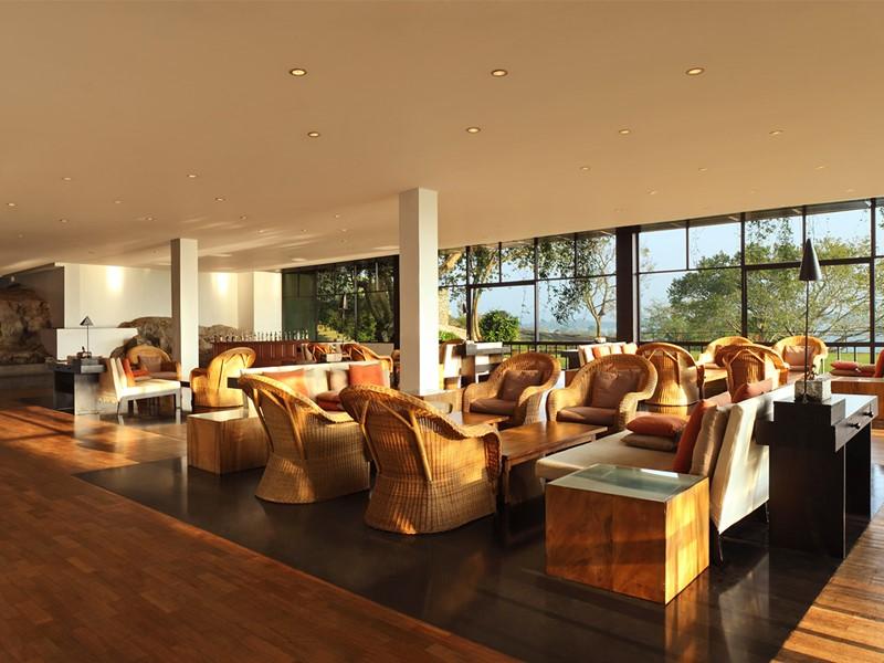 Le lounge Kanchan de l'hôtel Heritance Kandalama