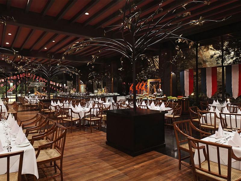 Restaurant Kanchana de l'hôtel Heritance Kandalama