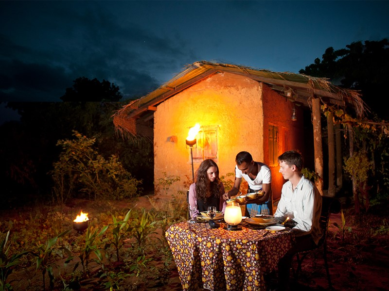 Expérience culinaire Kotuwe à l'Heritance Kandalama