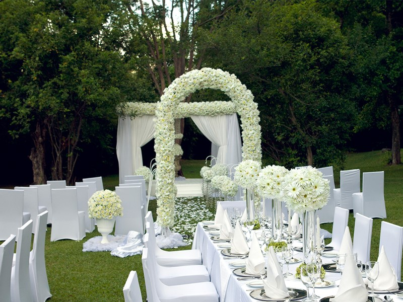 Mariage à l'hôtel Heritance Kandalama au Sri Lanka