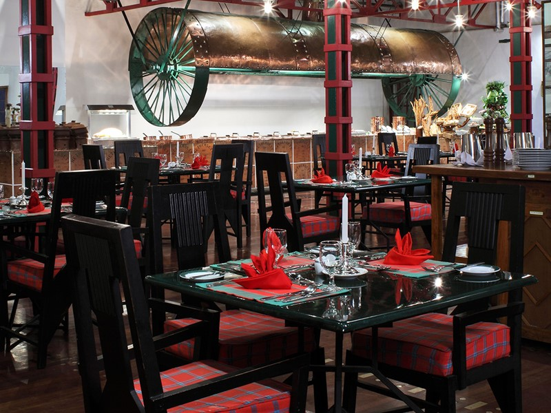 Restaurant Kenmare de l'hôtel Heritance Tea Factory
