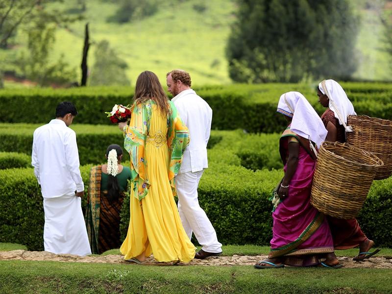 Mariage à l'Heritance Tea Factory à Nuwara Eliya