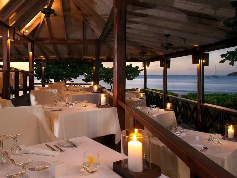 Le restaurant et ses plats raffinés