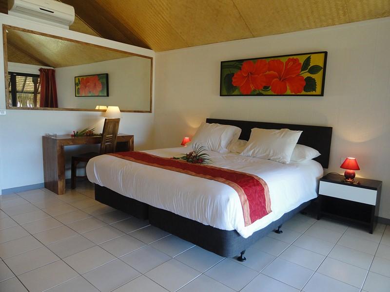 Superieure Bungalow Vue Lagon de l'hôtel Hibiscus à Moorea