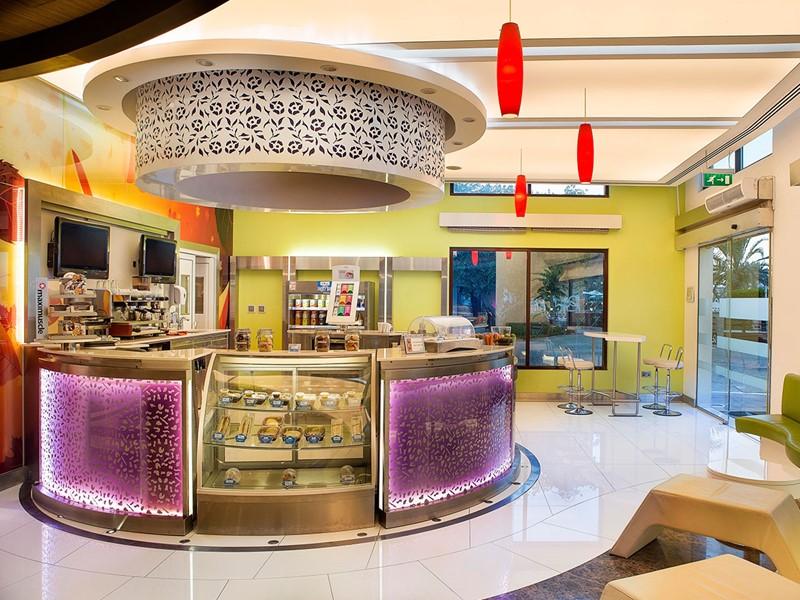 Ocean Cafe de l'hôtel Hilton à Abu Dhabi