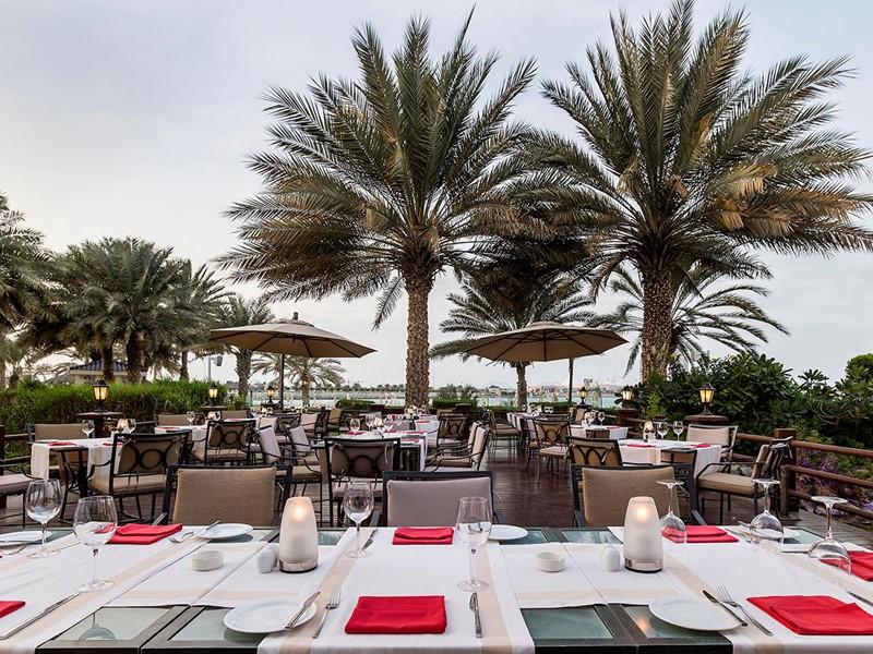 Le restaurant Vasco's de l'Hilton Abu Dhabi