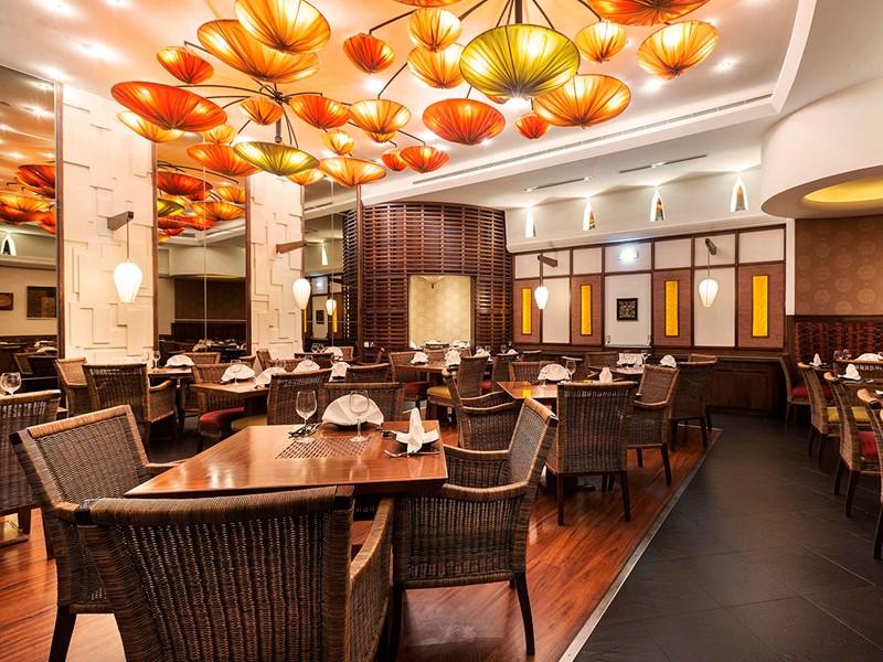 Le restaurant Royal Orchid de l'Hilton Abu Dhabi