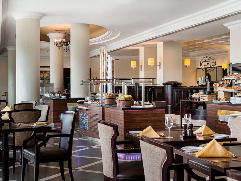 Le restaurant La Terrazza de l'Hilton Abu Dhabi