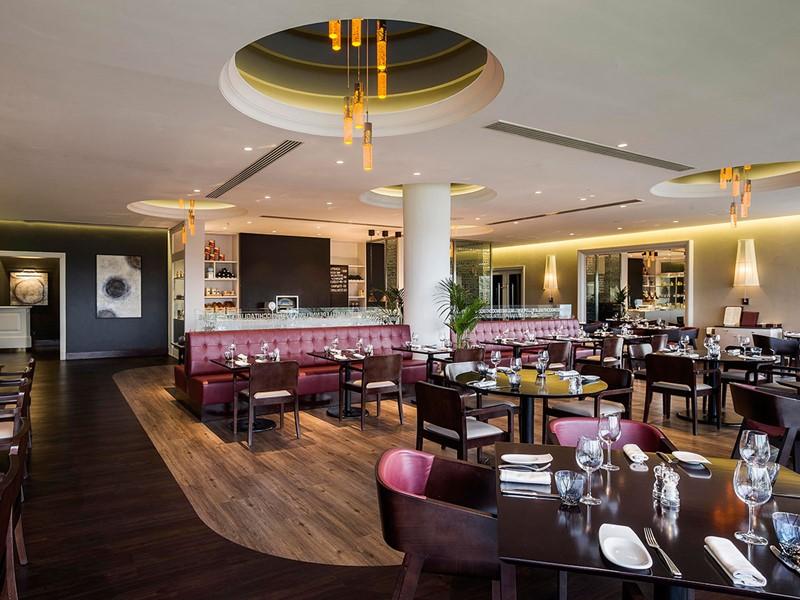 Le restaurant Bocca de l'hôtel Hilton à Abu Dhabi