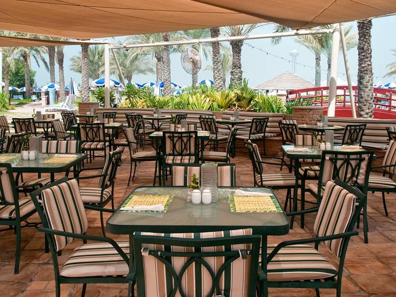 Le restaurant Escape de l'hôtel Hilton Abu Dhabi