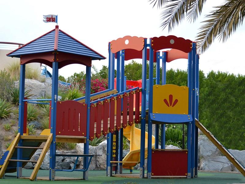 Terrain de jeu de l'hôtel Hilton Abu Dhabi