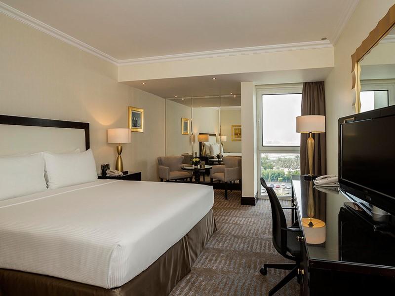 Chambre Standard vue Jardin de l'Hilton Abu Dhabi