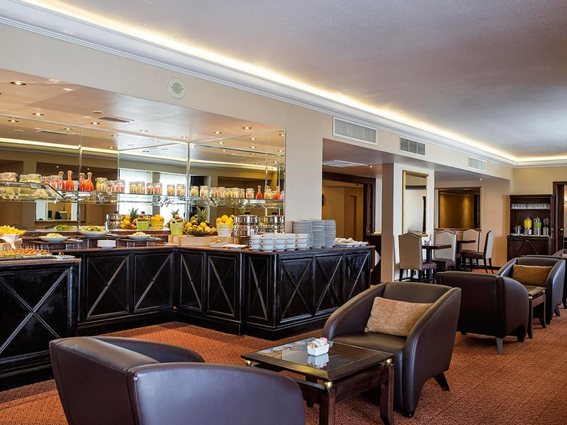 Executive Lounge de l'hôtel Hilton Abu Dhabi