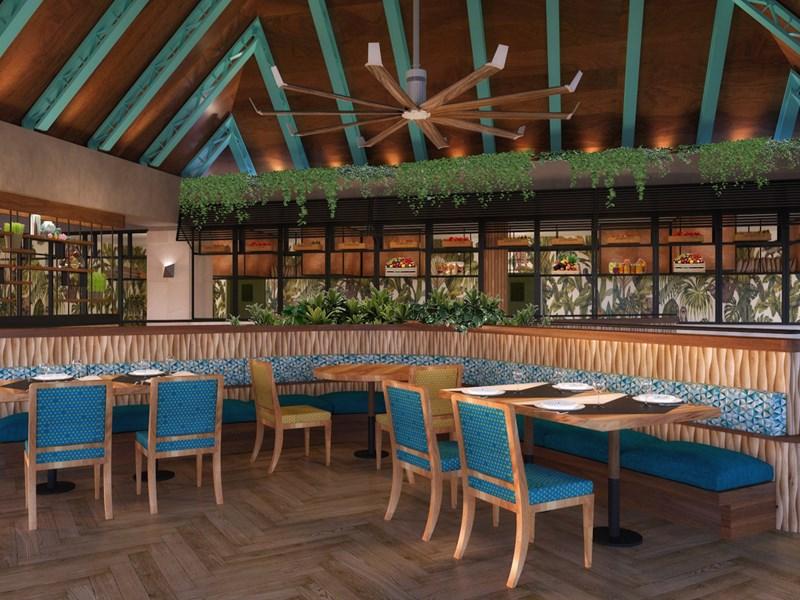 Le restaurant Caoba