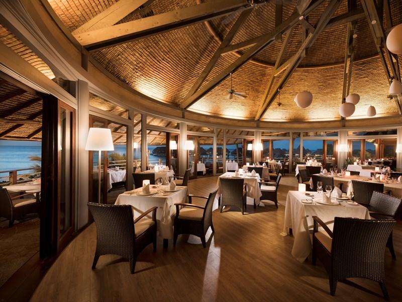 Le restaurant Arii Vahine
