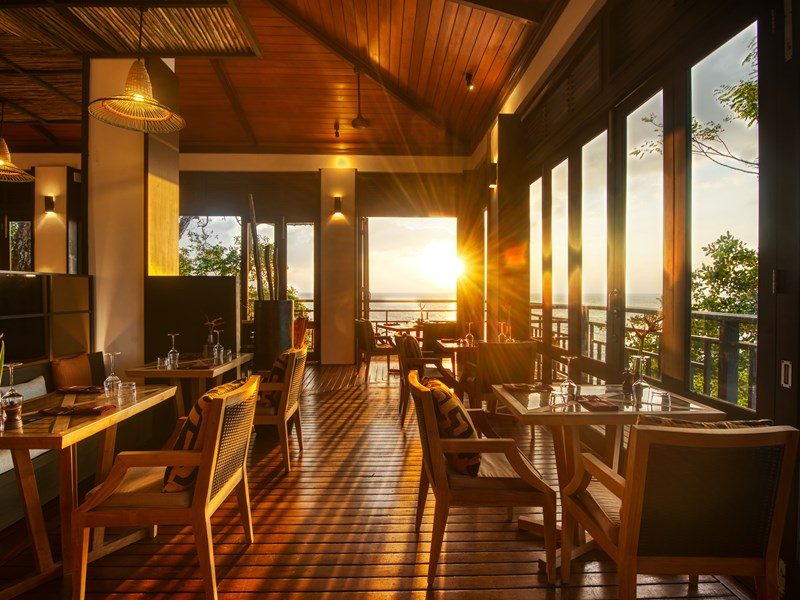 Le restaurant Mahe