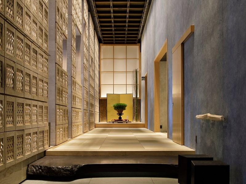 Une décoration dans la pure tradition japonaise