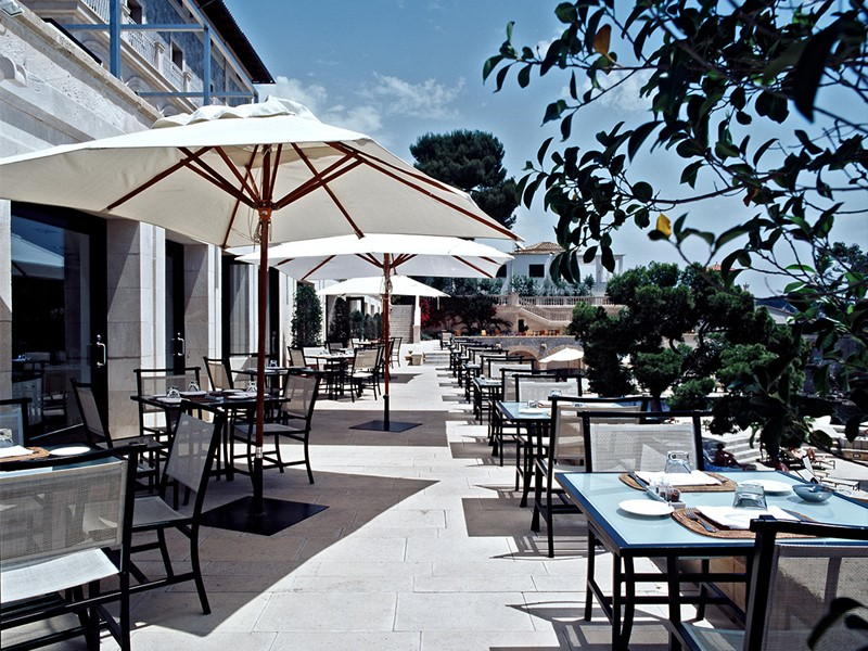 Restaurant Maricel du Hospes Maricel situé aux Baléares