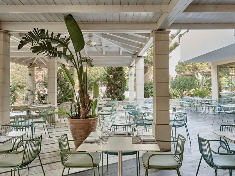 Le restaurant Mediterraneo