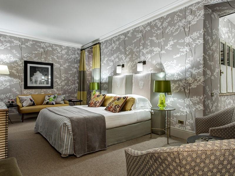 Deluxe Room de l'Hôtel de Russie à Rome
