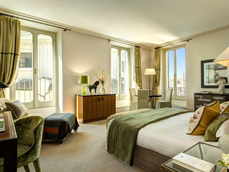 Junior Suite du Rocco Forte Hotel de Russie