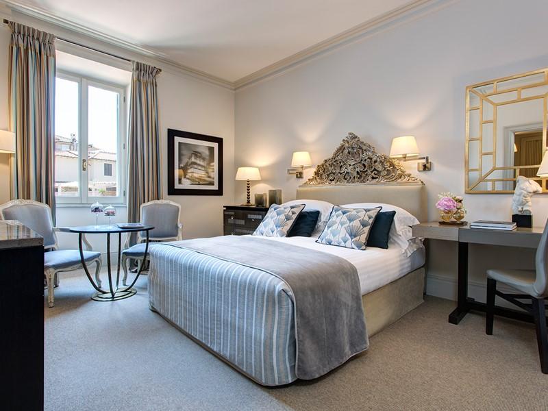 Classic Room de l'Hôtel de Russie à Rome