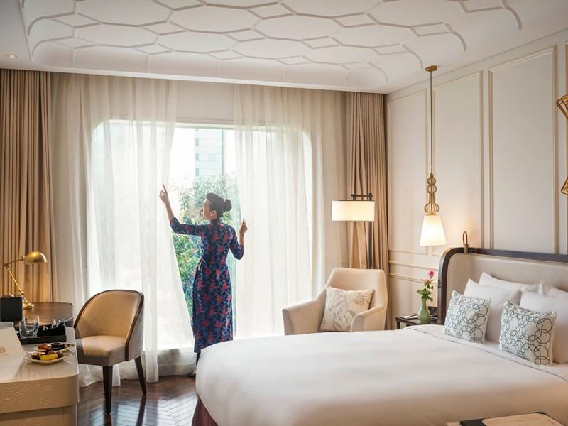 Deluxe Room de l'Hôtel des Arts Saigon au Vietnam