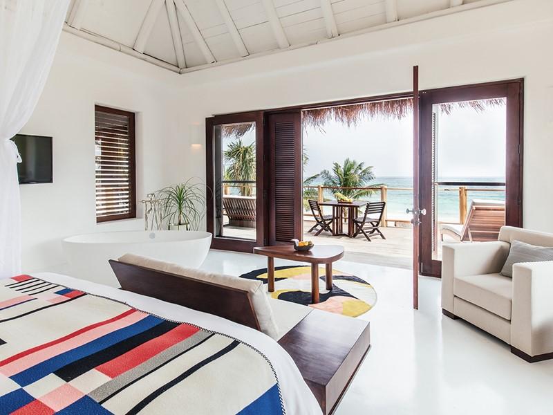 Beach Suite de l'hôtel Esencia au Mexique