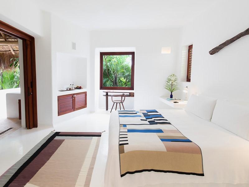 Jungle Room de l'hôtel Esencia au Mexique