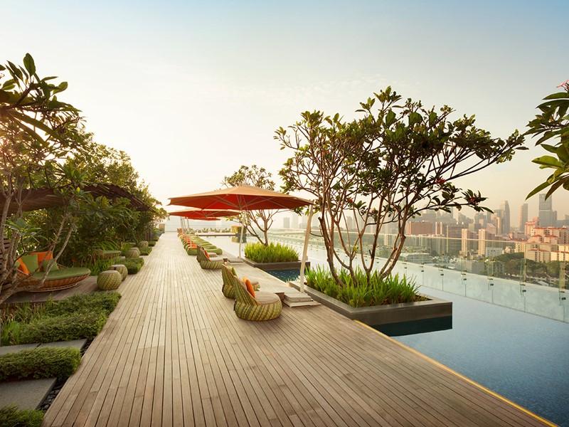 Profitez de la magnifique piscine du Jen Orchardgateway
